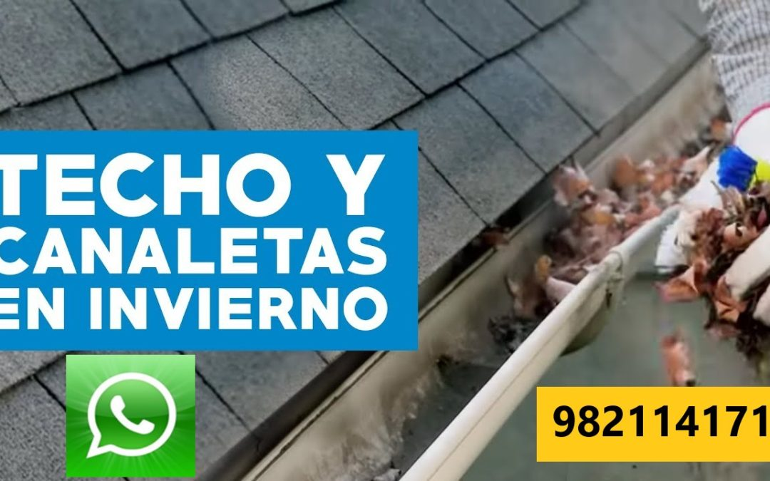 🥇 CANALETA PARA LLUVIA 🥇 Instalación, Limpieza en Miraflores, San Isidro, Lima y Callao