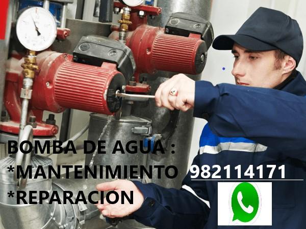Mantenimiento Tanque Hidroneumatico Bomba de Agua en Barranco, Chorrillos, Lima