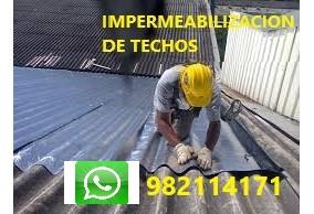 ( ( ( MANTENIMIENTO, REPARACION )  )  )🤧TECHO, AZOTEA en Lima