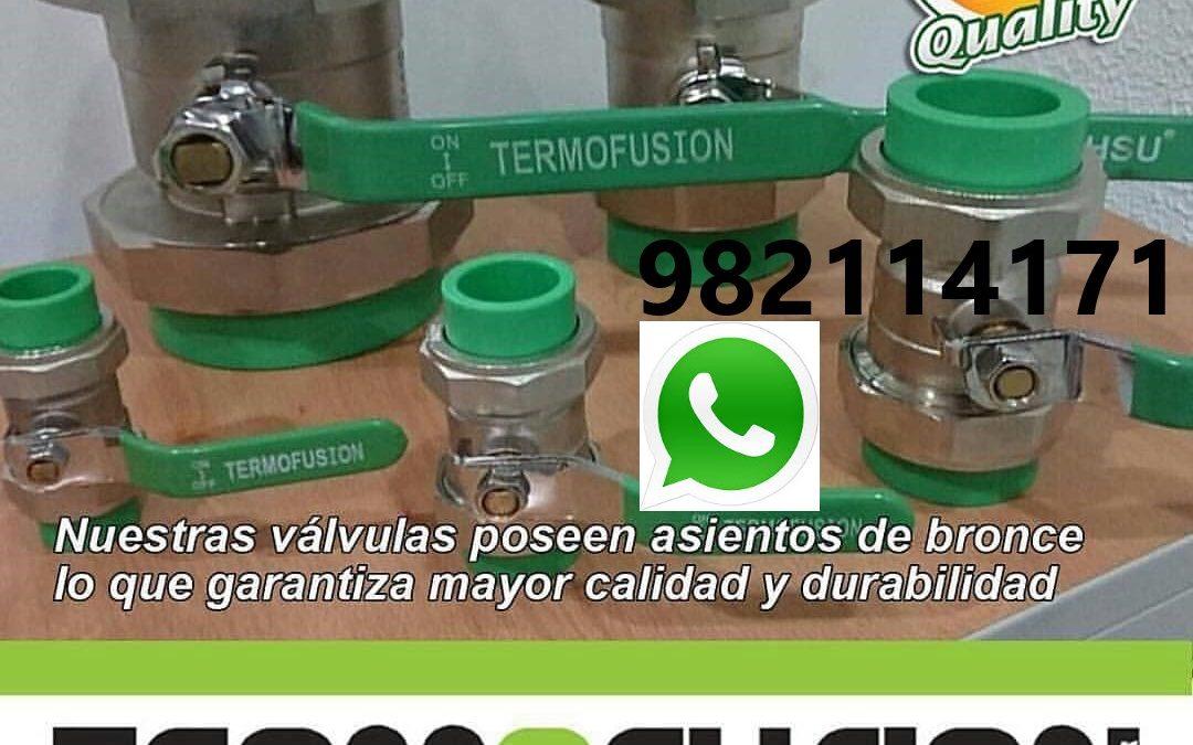 Termofusión Instalación Tuberia HDPE, PPR en Callao, Ventanilla, Bellavista, Lima.