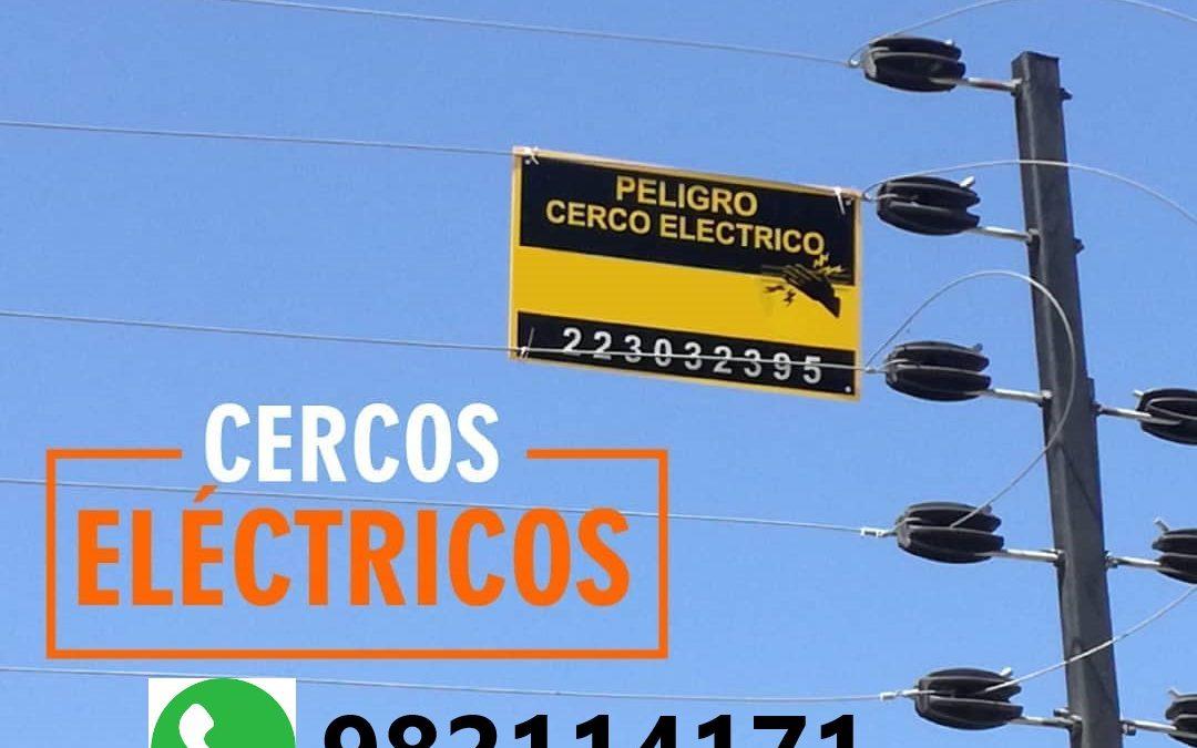 【CERCO ELÉCTRICO】🥇 Instalación y Mantenimiento en Surco, La Molina