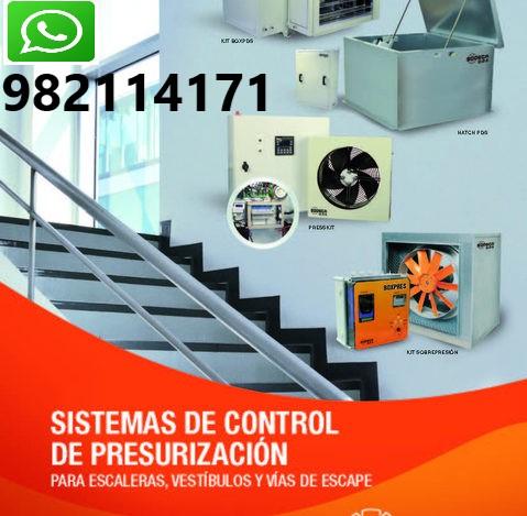 Reparación de Presurización de Escalera, Vestibulo en Surquillo, Breña, Lince, Magdalena