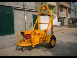 Limpieza, Mantenimiento de Alcantarilla con Máquina de Balde en Lima, Callao.