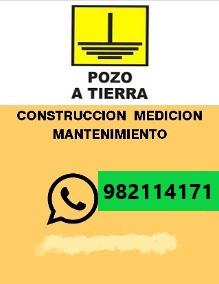 【POZO A TIERRA】🥉 Mantenimiento, Instalación Ate, Santa Anita