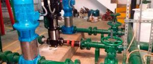 Sistema de Bomba de Presión Constante Reparación en Surco