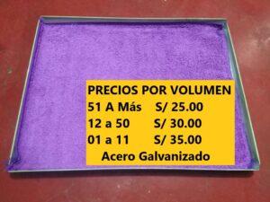 Bandeja DESINFECTANTE Calzado Metal anti COVID-19 en Lima