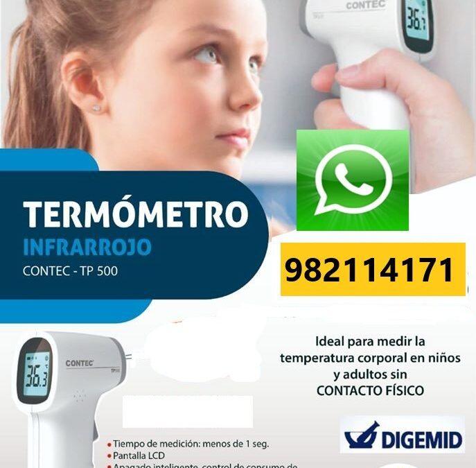 🤧 TERMOMETRO MEDICO🦠 Infrarrojo Certificado en Lima