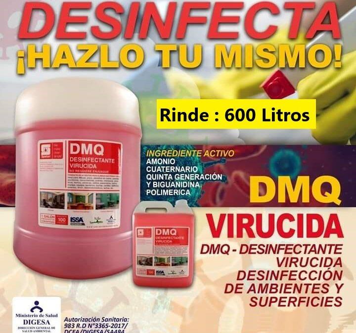 AMONIO 🤧 CUATERNARIO⛑️ Quinta Generación Desinfectante en Chiclayo